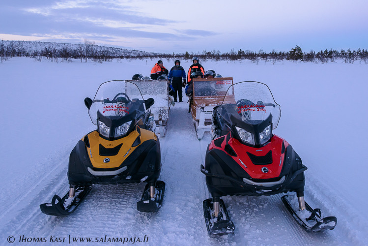 Snowmobile Safaris in Enontekiö, Hetta
